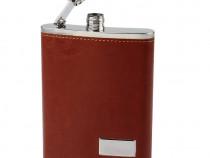 Sticla din Inox cu gentuta si agatatoare (265 ml) - 2 culori
