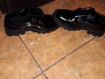 Pantofi Derby,talpa track,Bershka
