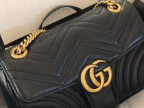 Geanta firma/italia/logo auriu/calitate garantata