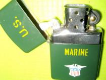 9837-Bricheta vintage US Marine sistem Zippo metal stare bun