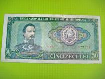 2 Bancnote 50 lei RSR 1966 circulate.