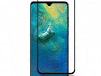 Folie Sticla Tempered Glass Huawei Mate 20 5D Black Fullcove