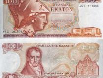 Lot 2 bancnote grecia 1978-1996 - unc