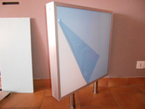 Caseta luminoasa ultra slim LED 600x600x80mm
