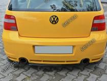 Prelungire splitter tuning bara spate VW Golf 4 Mk IV R32 v1
