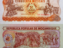 Lot 4 bancnote MOZAMBIC 1986-1993 - UNC
