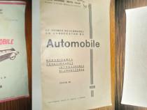 9896-Automobile-Carte veche colectie 1939 semnata Cpt. M.G.O