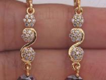 Cercei lungi eleganti/ Gold Filled la comanda