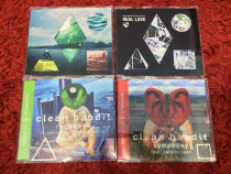 LOT 4 CD-uri single Clean Bandit (dance) ,toate hiturile lor