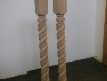Balustru sculptat lemn masiv