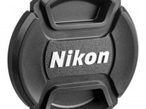 Capac frontal obiectiv Nikon LC-77, camera foto DSLR, diamet