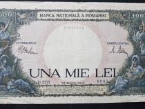 3 Bancnote 1000 Lei puse in circulatie intre anii 1943-1944