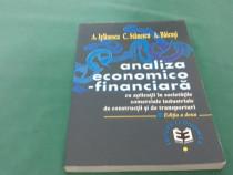 Analiza economico-financiară/ a. iștefănescu, c. stănescu/ 1
