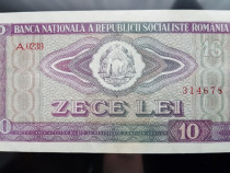 Bancnota 10 Lei pusa in circulatie in anul 1966