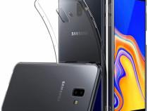 Pachet Husa Silicon + Folie Sticla - Samsung J4 J6 Plus