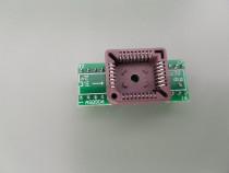 PLCC32-DIP32 adaptor