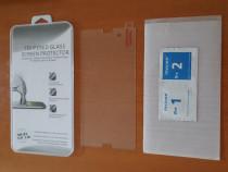 Folie sticla fata + lavete pentru Sony Xperia Z3 (D6603)