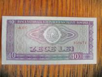 A159-Bancnota 10 lei RSR 1966 stare buna.