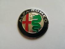 Emblema volan Alfa Romeo 3M diametrul 5 cm (50 mm)