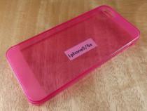 Carcasa iphone 5 5s - husa spate protectie transparenta- tpu