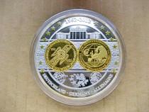 A183-UNC-Medalia euro Germania aniversara Muzeul natiunii g.