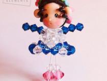 Nathalie Swarovski Doll Necklace
