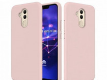 Husa Telefon Plastic Huawei Mate 20 Lite Liquid Rose NOU