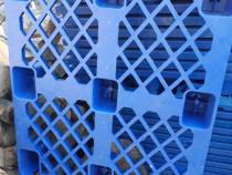 Paleți plastic noi dimensiune 120/80 si 110/90 albastri