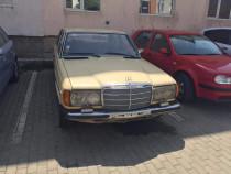 Mercedes w123 200D an 1977 Cobra