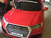 Masina electrica Audi Q7 2x35W 12V cu Panou comanda BT #Rosu