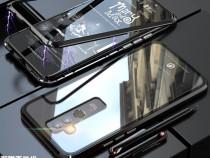 Huawei Mate 20 Lite - Husa Magnetica Spate Din Sticla si Ram