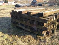 Traverse lemn CFR second hand