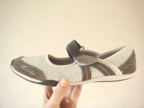 Pantofi sport, din piele naturala, Mat Star