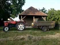 Tractor fiat u500 + remorca cu prelata