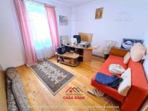 Apartament 2 camere renovat,central,partial mobilat,etaj 1 !