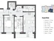 Apartament 3 camere, imobil nou, metrou Dimitrie Leonida