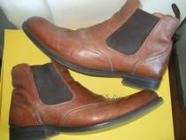 Ghete piele bărbătesti Wanted Urban Shoes nr.44