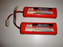 Acumulatori nikko 7.2v 1600 mAh Ni-Cd battery pack