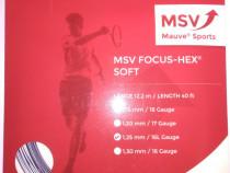 Racordaj tenis msv focus hex soft grosime 1.25 12m plic