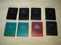 Carduri PS 1 si 2 Sony si Xbox 360 si Multitap PS 2 Fat noi