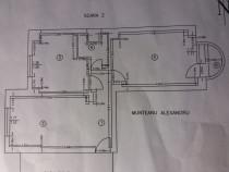 Apartament 3 camere str Belsugului