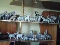 Colectie familie elefanti portelan