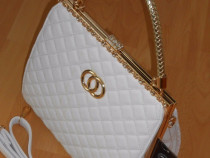 Genti tp Chanel,accesorii metalice aurii/suritras