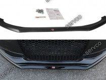 Prelungire splitter bara fata Audi S4 B8 FL 2012-2014 v6