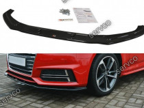 Prelungire splitter bara fata Audi A4 B9 S-line 15-19 v2