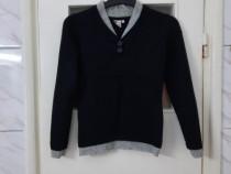 Pulover dama negru model gri deschis marimea XS / S - Nou