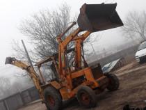 Buldoexcavator BENFRA Italia - 80 cp - Incarcator + cupa