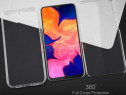 Samsung A20 A30 A40 A50 Husa 360 Fata Spate Plastic Transpar