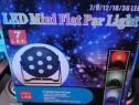 Par led 7 leduri RGB cu lupă