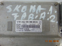 Calculator motor ECU Skoda Fabia 2 motor 1.2 Roomster dezmem